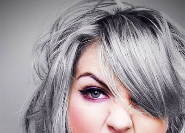 models with gray hair | ... Virtual Hairdresser Consultant: How to ...
