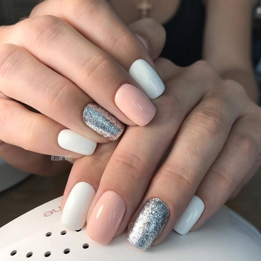 Pin By Monika On Nails With Images Paznokcie Zelowe Ladne