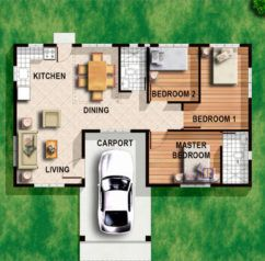 Foxy Bungalow House Designs Philippines Bedroom Floor Plans