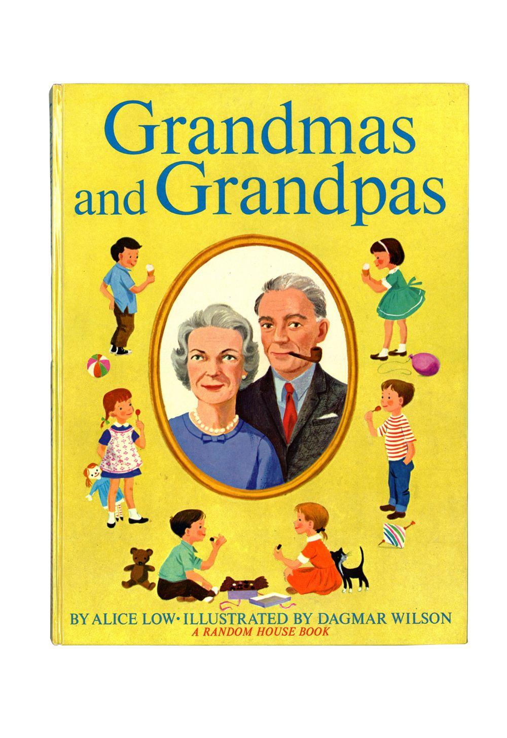Grandmas and grandpas vintage childrens book 1962