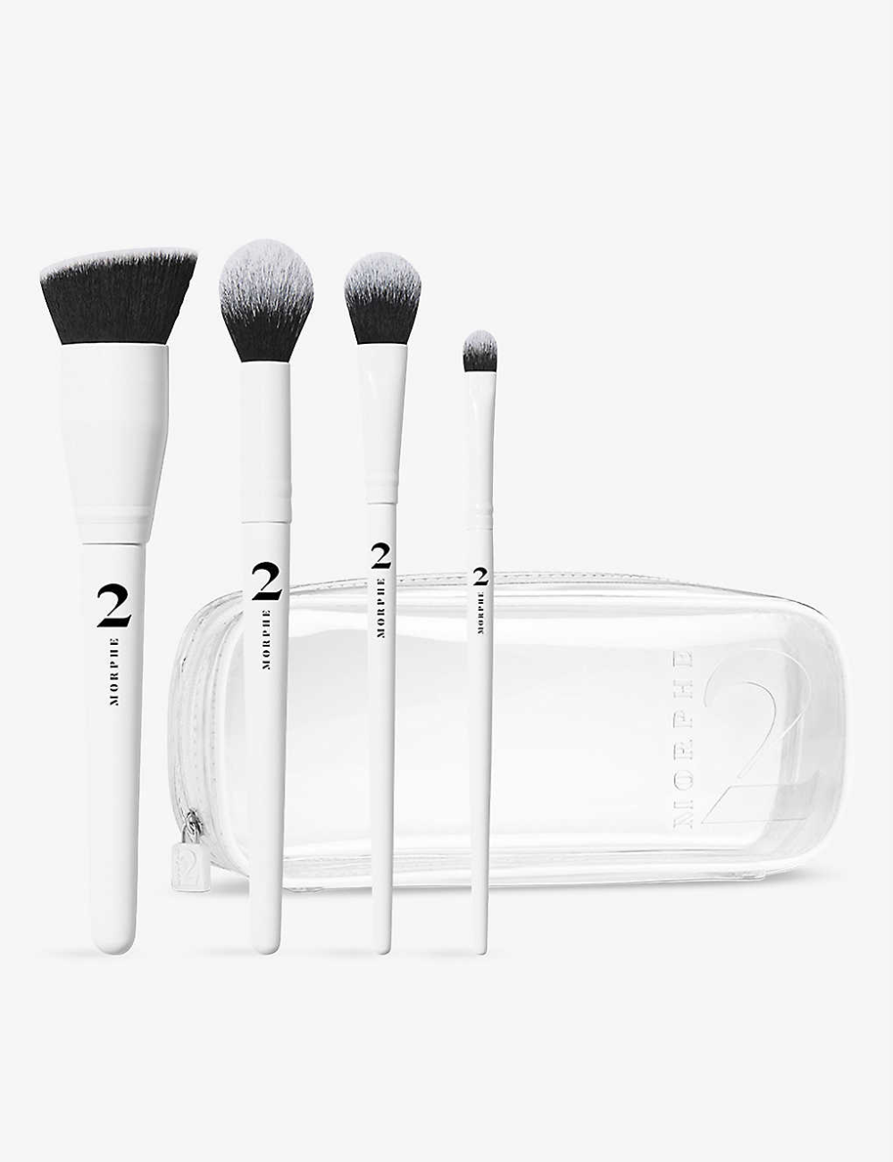 Photo of MORPHE Morphe 2 The Sweep Life four-piece brush collection and bag