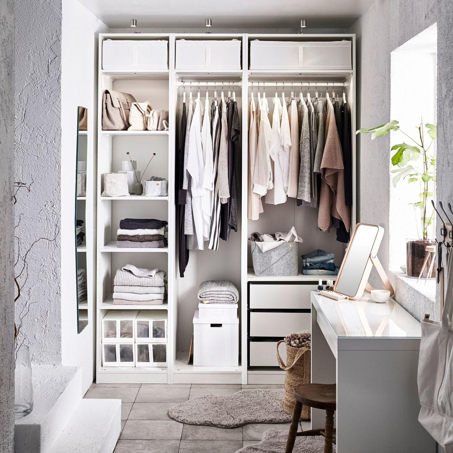 Dressing Ikea Pas Cher dressing pas cher et tendance | aménagement penderie