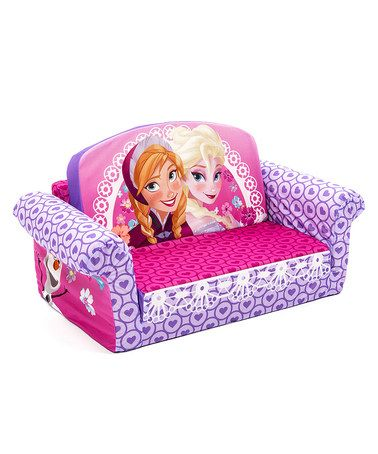 Another Great Find On Zulily Frozen Anna Elsa Flip Open Sofa