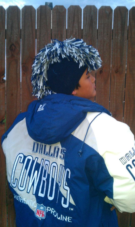 Dallas Cowboys Mohawk Crochet Hats Dallas Cowboys