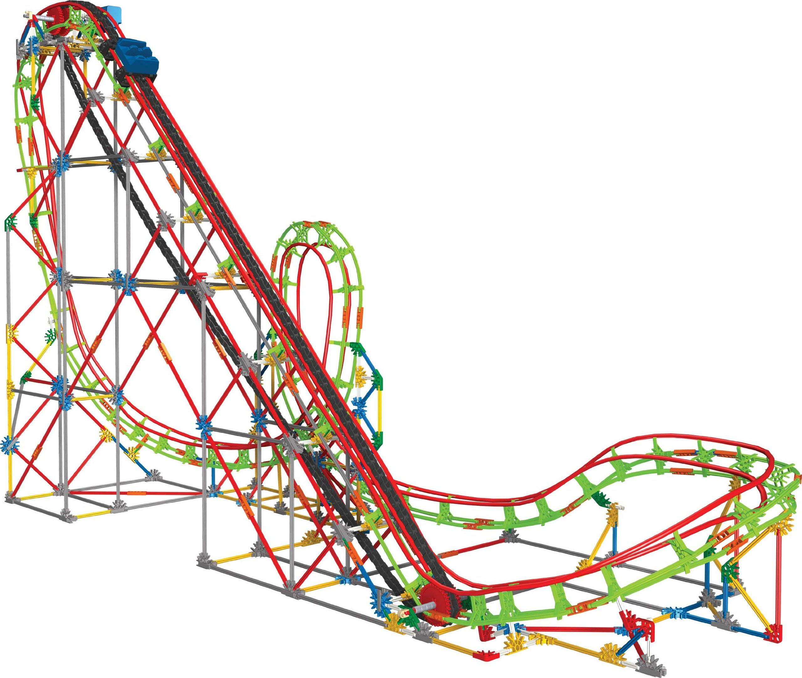 Knex Education Roller Coaster Physics Set Learn Even More