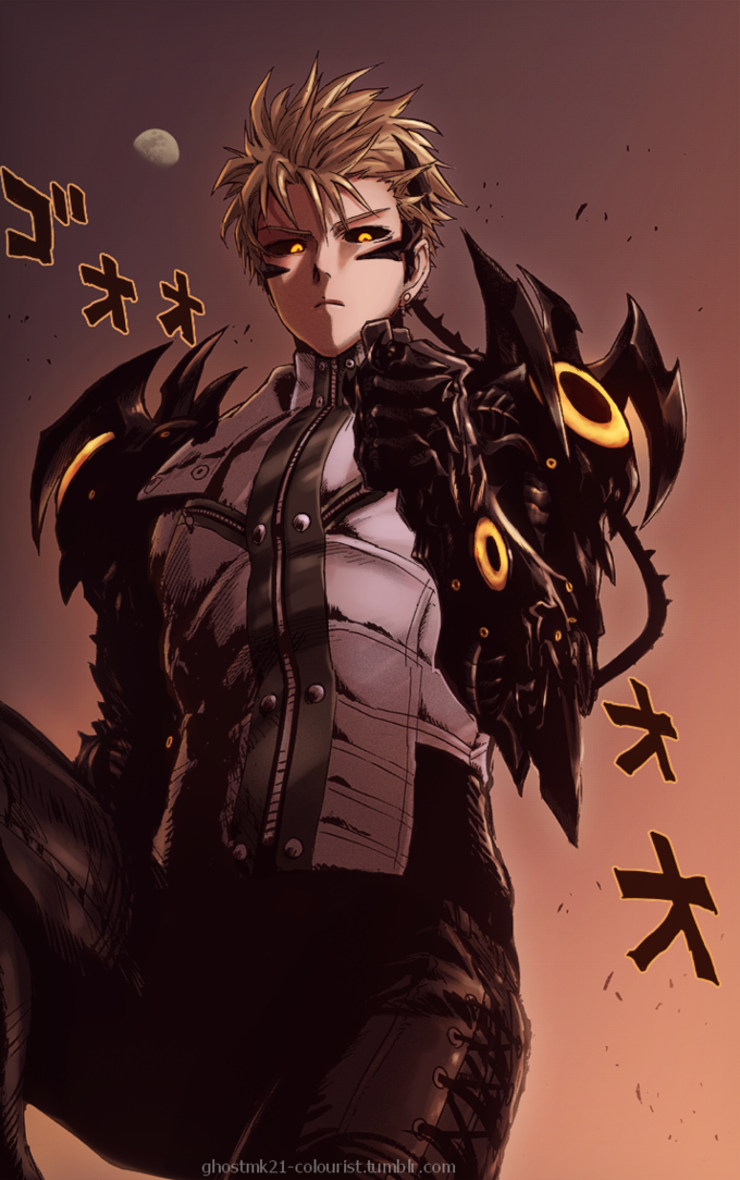 Genos One Punch Man Color Page