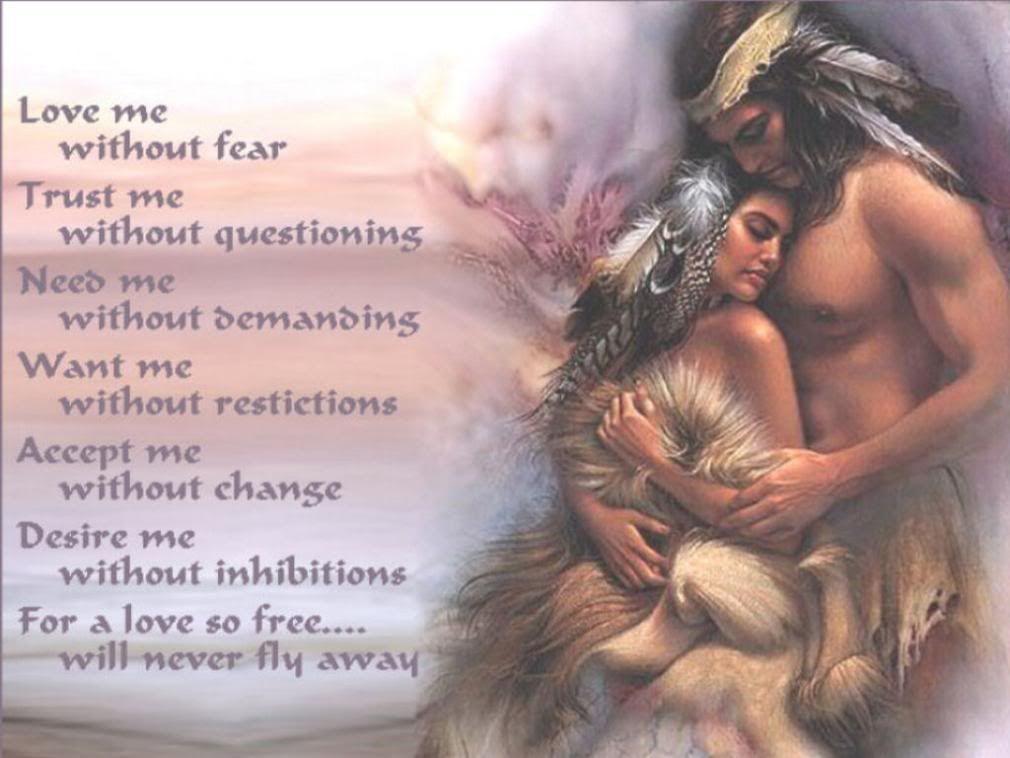 Native American Love Prayer Native American Quotes Native