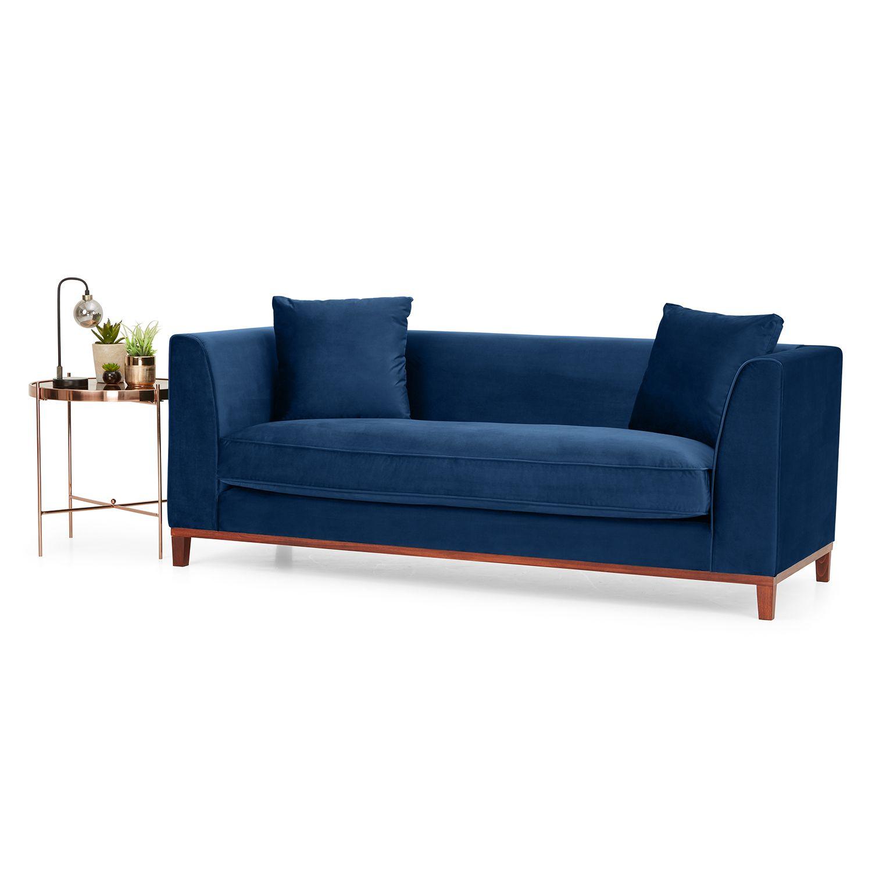 Lenoy 3 Seater Velvet Sofa Next Day Delivery Lenoy 3 Seater Velvet Sofa Sofa Next Sofa Upholstered Sofa