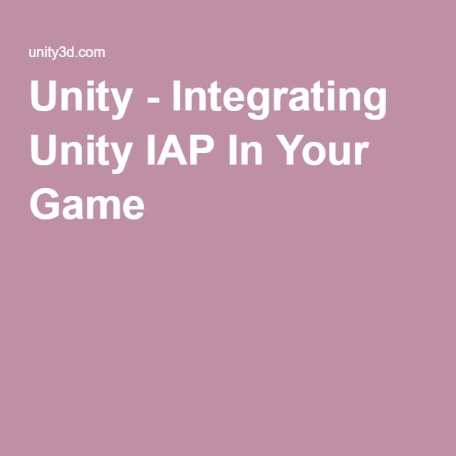 Unity - Integrating Unity IAP In Your Game | Neat Game
