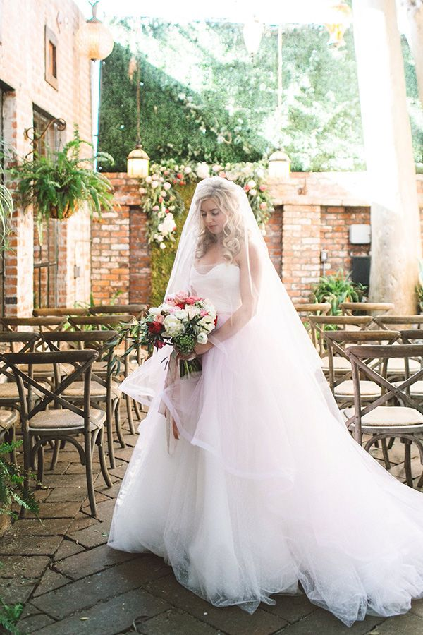 Vintage Glam Wedding Shoot | The bride is made beautiful by Beach Bridal Beauty wearing Rmine gowns that are spellbindingly gorgeous delivering just the right princess vibe.