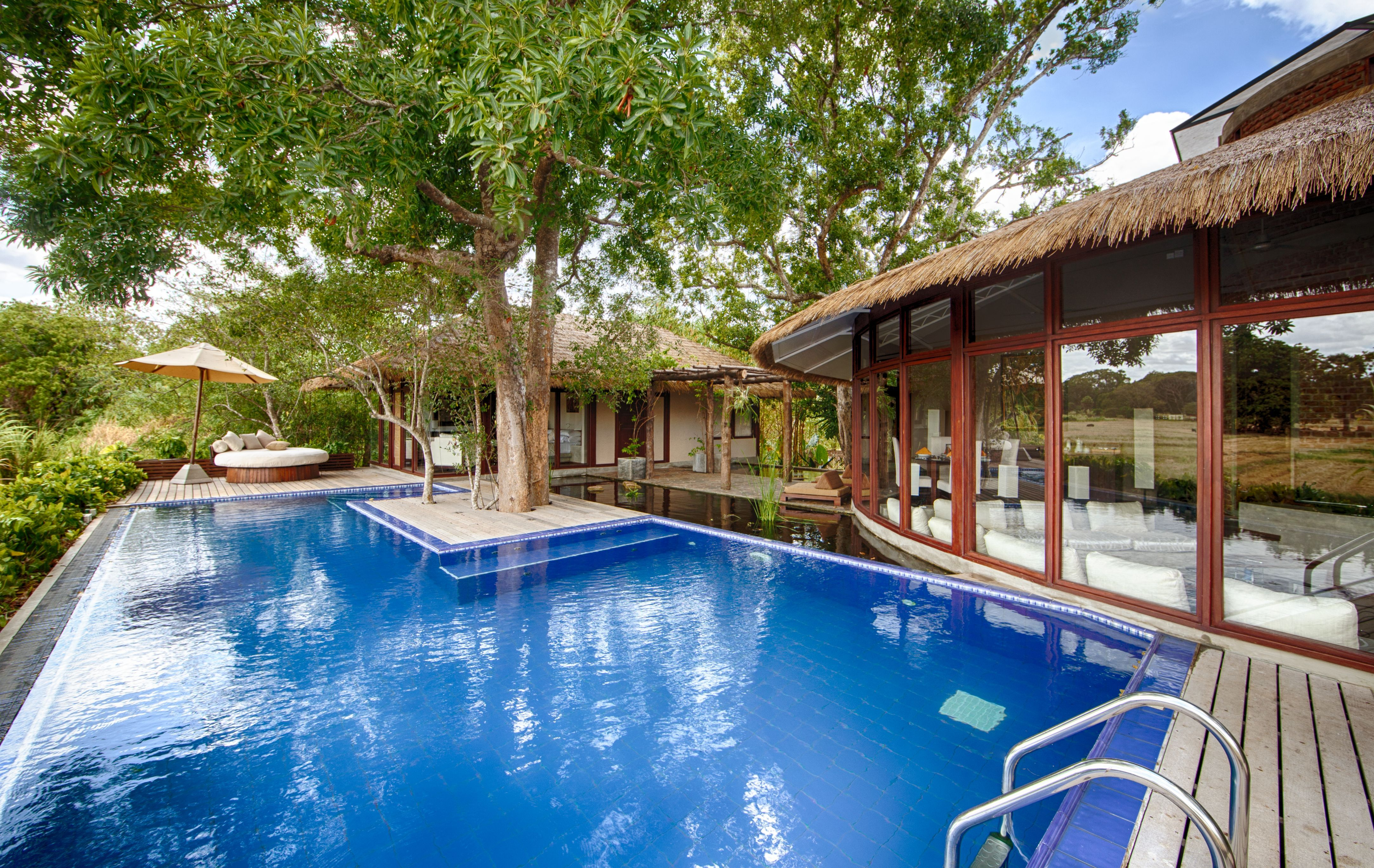 #TravelInspiration Ulagalla Resort in Anuradhapura, Sri Lanka... Pssst It's offering 50% off if you book 7 days in advance http://www.slh.com/hotels/ulagalla-resort/special-offers/