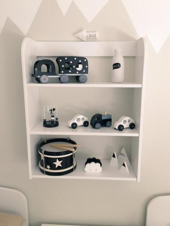 Flexa Storage Unit   Open Shelves   White