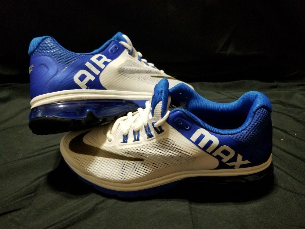 Nike Air Max Excellerate +2 Mens Black Royalblue Running