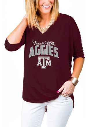 best loved ed1ee ed32e Gameday Couture Texas A&M Aggies Womens Maroon Weekender T ...