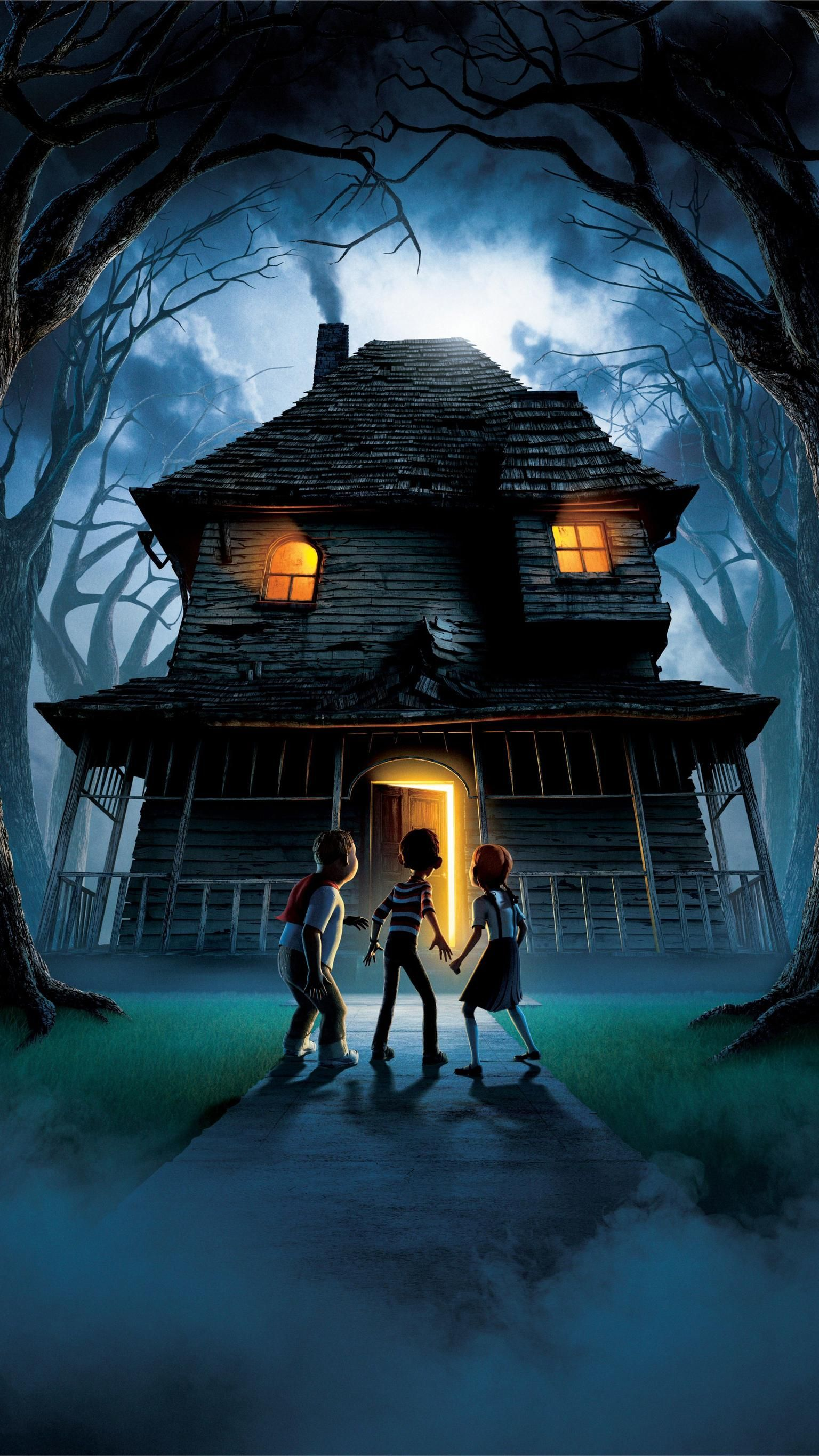 Monster House (2006) Phone Wallpaper   Moviemania