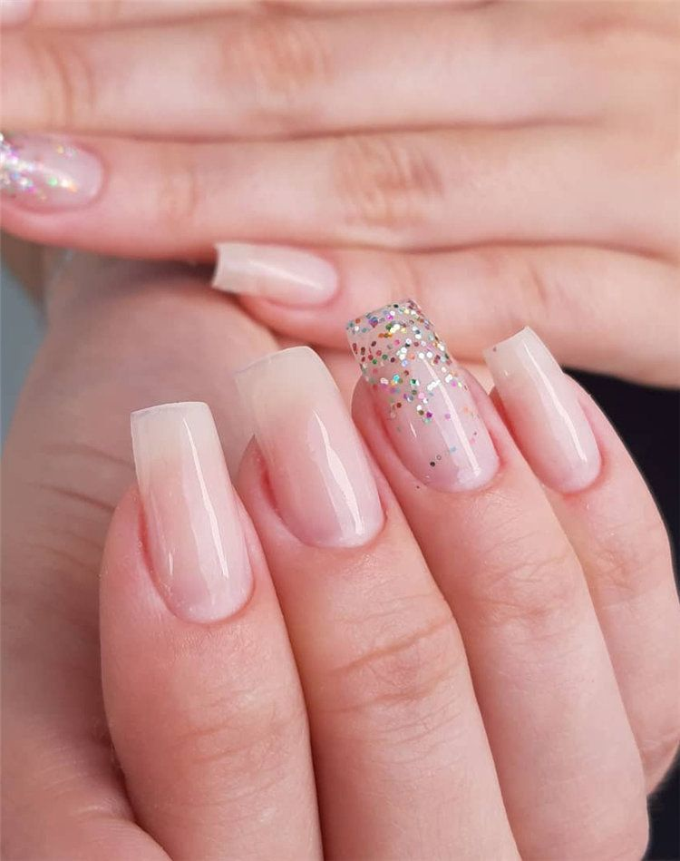 40 Stylish Natural Nail Ideas And Designs For Summer In 2019 Natural Nail Designs Wedding Nail Polish Nails