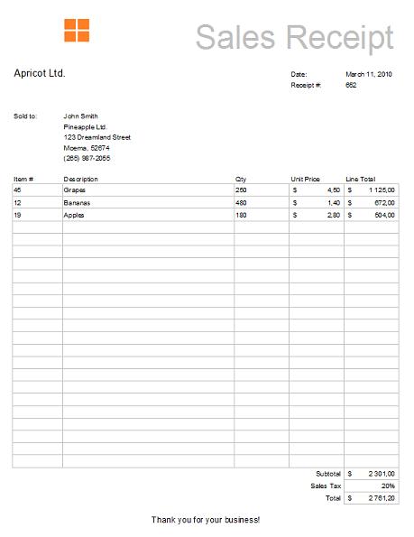 Excel Receipt Template 10 Receipt Template Word Template Templates