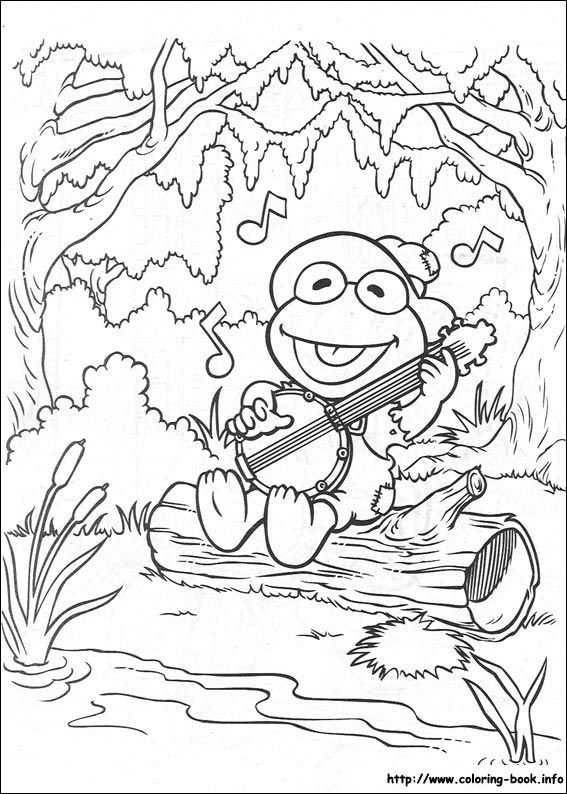 Muppet Babies Coloring Picture Elmo Coloring Pages Baby Coloring Pages Cartoon Coloring Pages