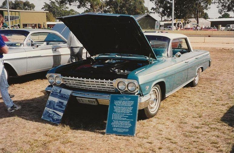 Imported To Australia When New 409 1962 Impala Sports Sedan Raced