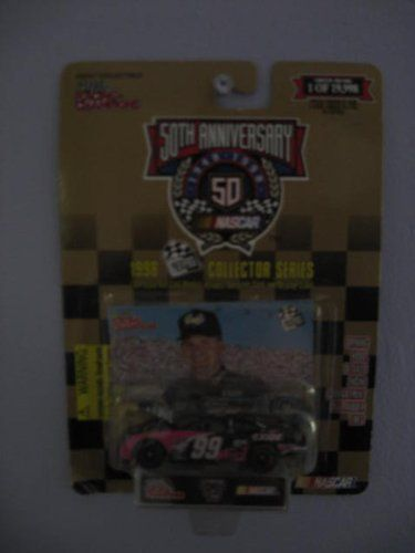 Racing Champions 50th Anniversary 1998 Collector Series Press Pass 1/64 Scale Diecast with Collectible Card #99 Jeff Burton Exide Racing by Racing Champions. $4.95