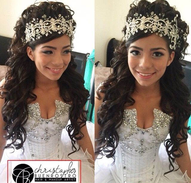 Quinceanera Hairstyles quince hairstyles wedding hairstyles quinceanera hairstyles hairstyle ideas hair ideas prom hair my hair updo sweet 16 Christopherbuenrostro Buenrostrochristopher Glambychristopher Glambychristopher Quinceanerahairstyles Hairstyles Hair Quincehair