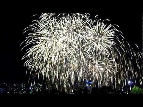 한강에서본 서울세계불꽃축제가 여의도 를 삼키다 9.MP4