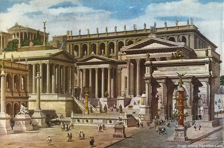 Interesting Facts About The Roman Forum Ancient Roman Architecture Empire Architecture Ancient Rome