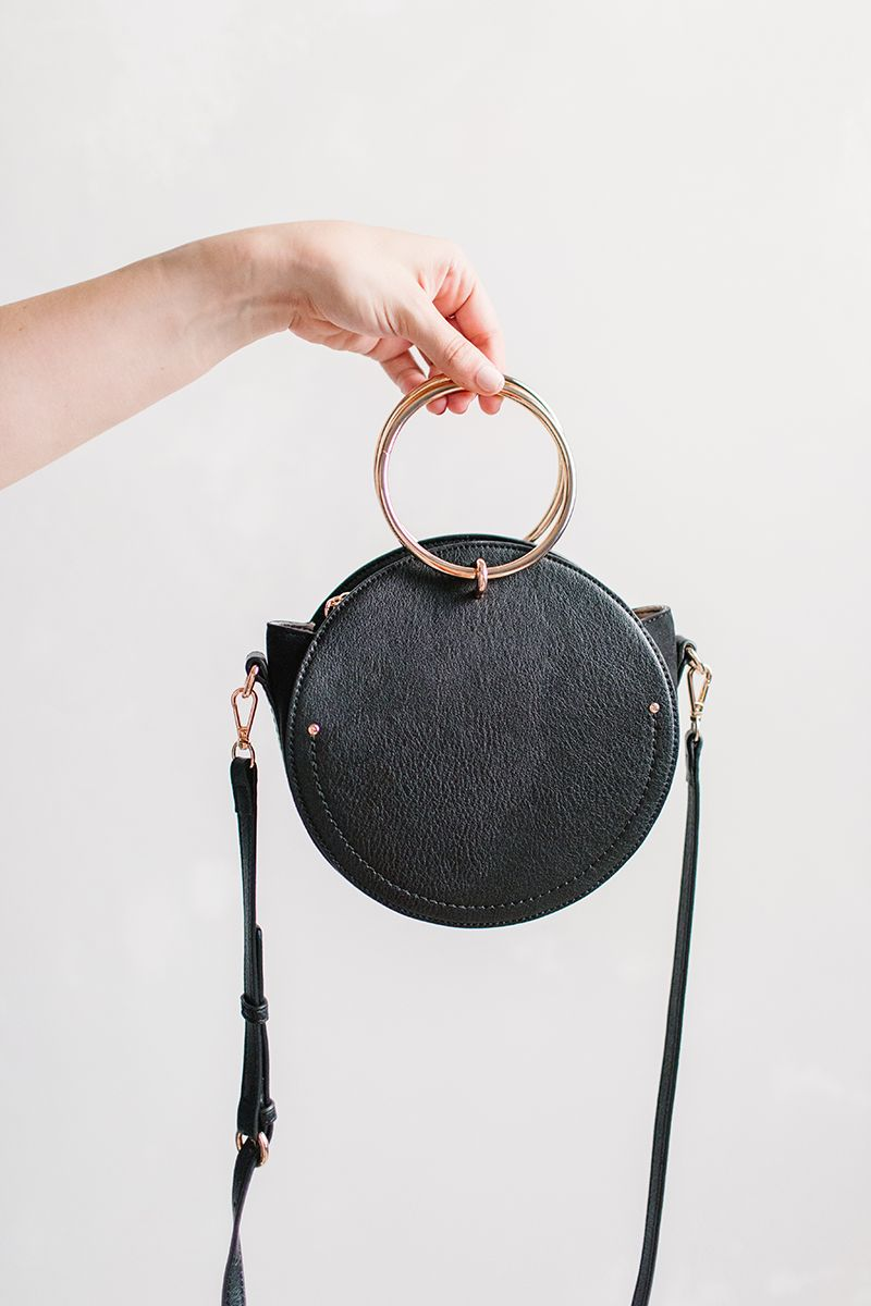 1f8c8e58e4656a LC Lauren Conrad Aster O-Ring Circle Crossbody Bag | Available at Kohl's
