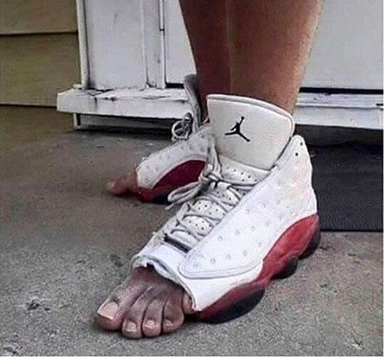 Life Doesn't Exist Without A Pair Of Jordans Photos)
