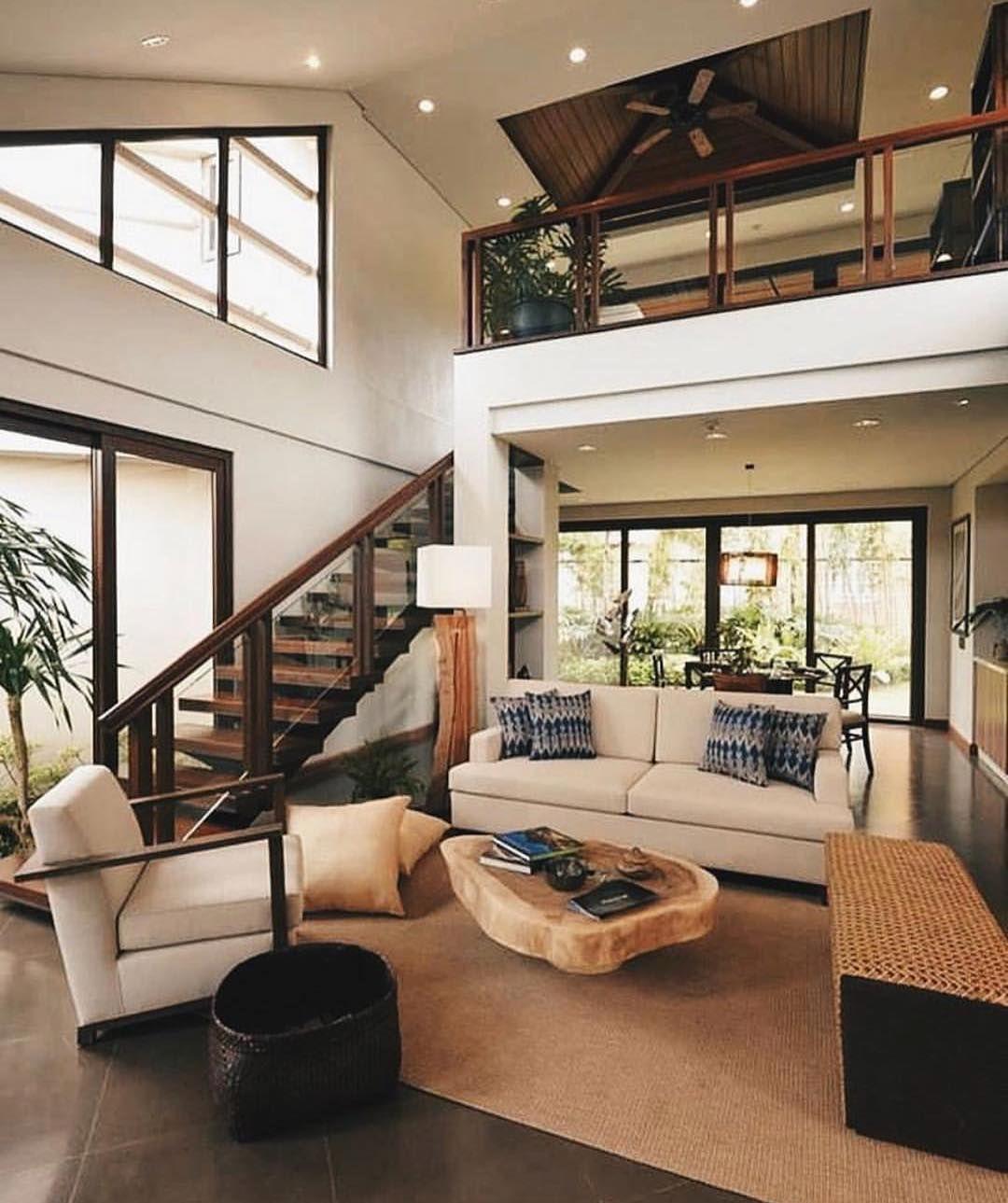 Tropical Beach House Interior: Cozy Interior By Manosa Architects