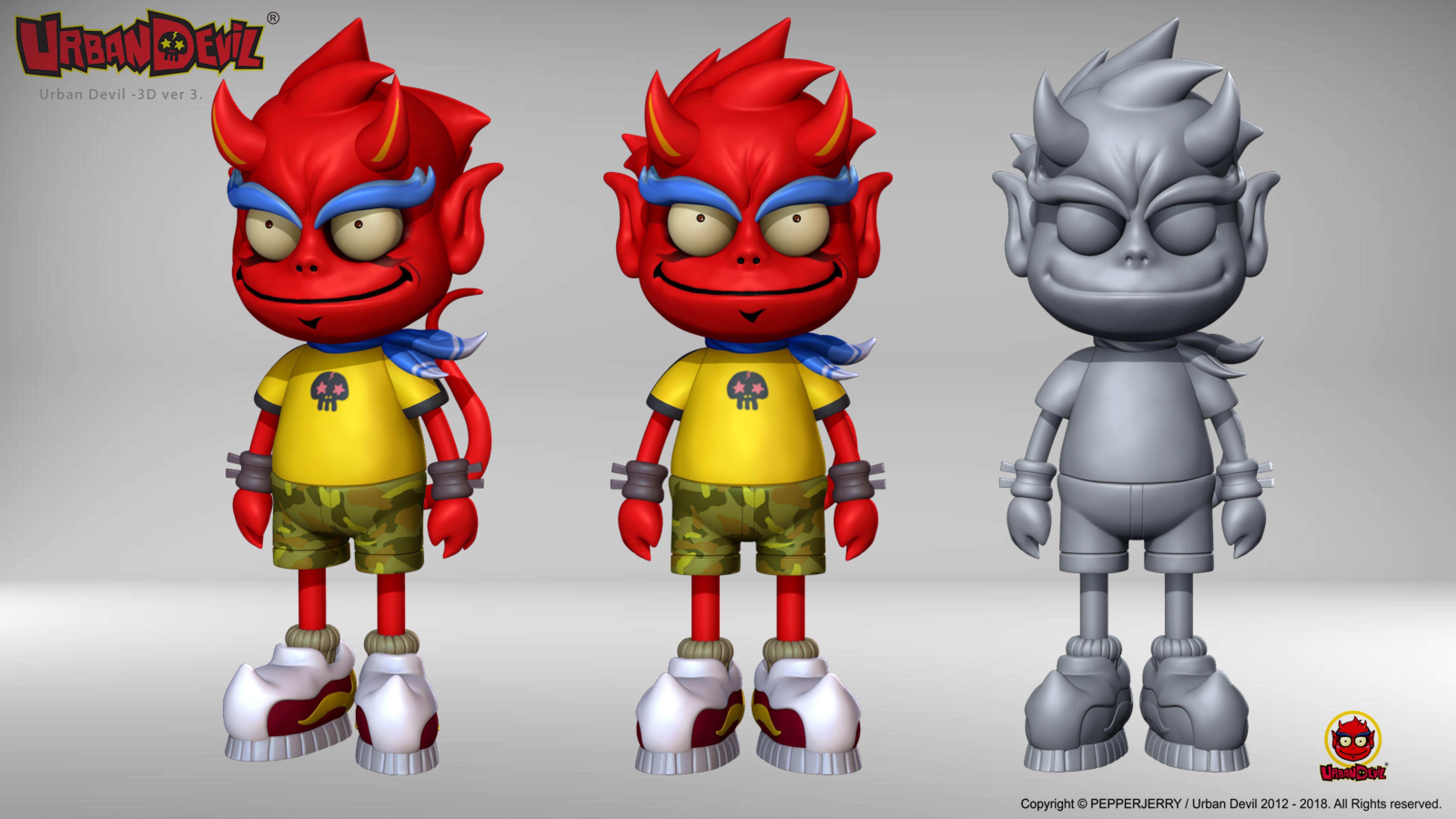 3D 工事監修 アーバン デビル Urban Devil 2 0 / Creator, Characters