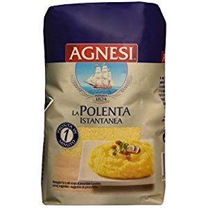 Agnesi Easy Cook Polenta 500g Cupboard Pasta-Pulses