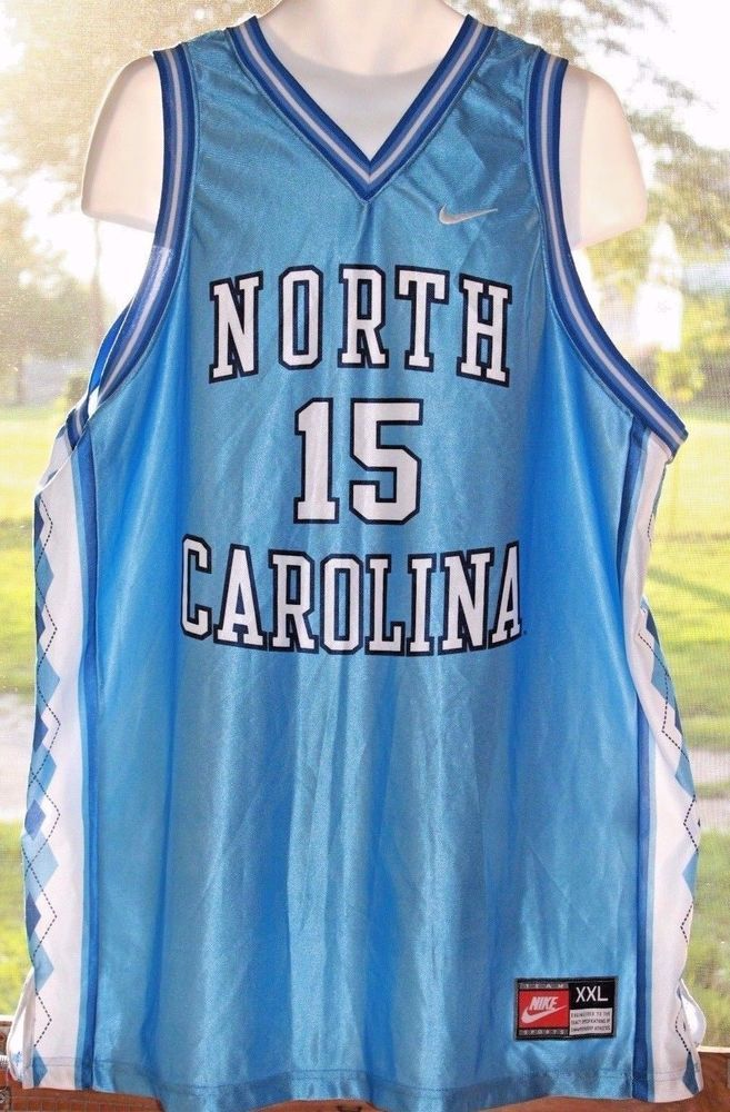 596d10d8c1d5 North Carolina Tar Heels Vince Carter Nike College Basketball Jersey ...