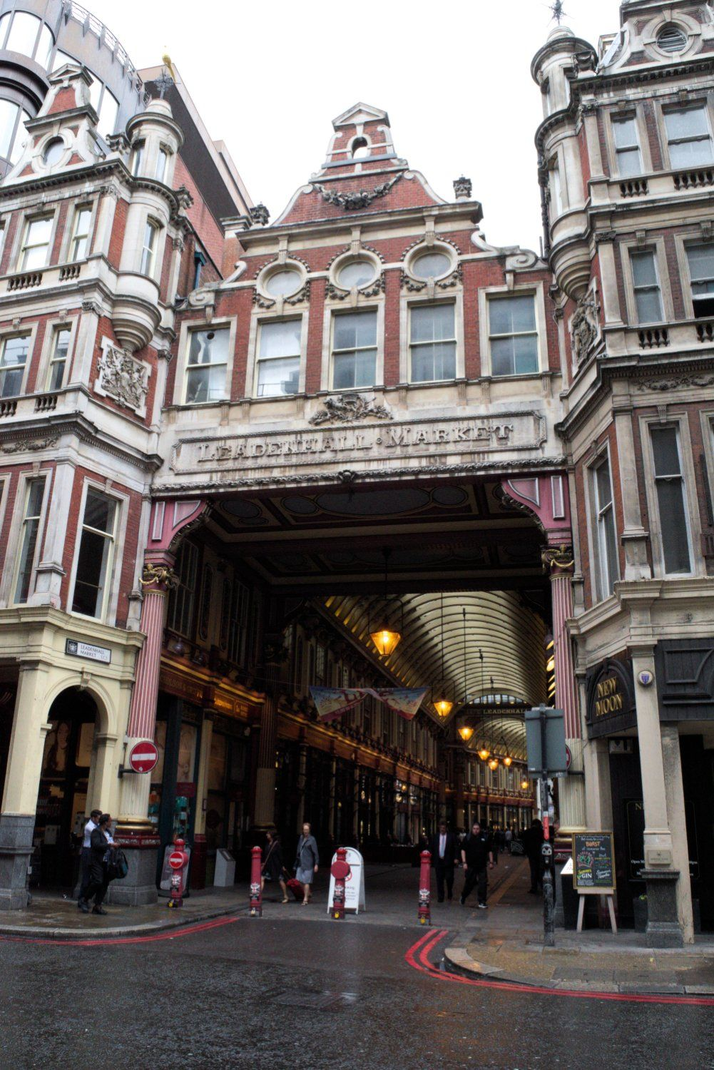 Leadenhall Market, Gracechurch Street. London