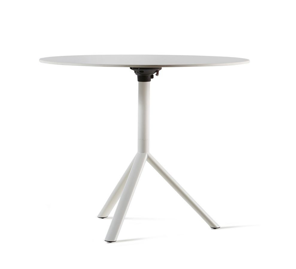 Amazing Miura I Round Bistro Table, Round Coffee Table For Home, Folding Coffee  Table For