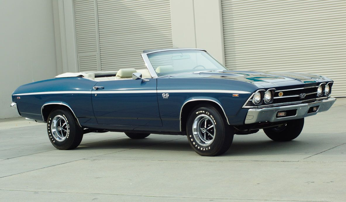 1969 chevrolet chevelle ss convertible going under the hammer