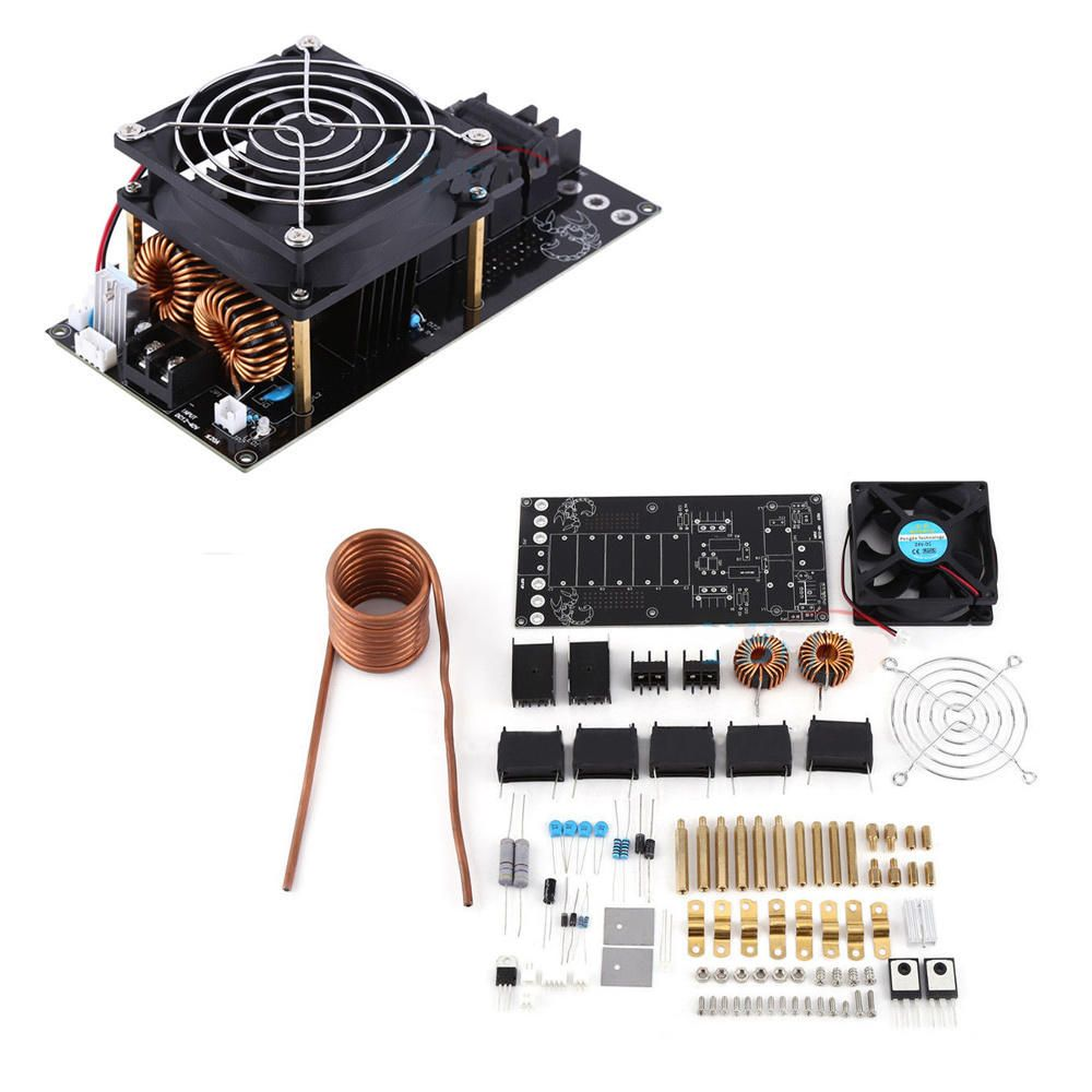 Us 41 37 Dc12 36v 1000w 20a Zvs Induction Heating Board Heater