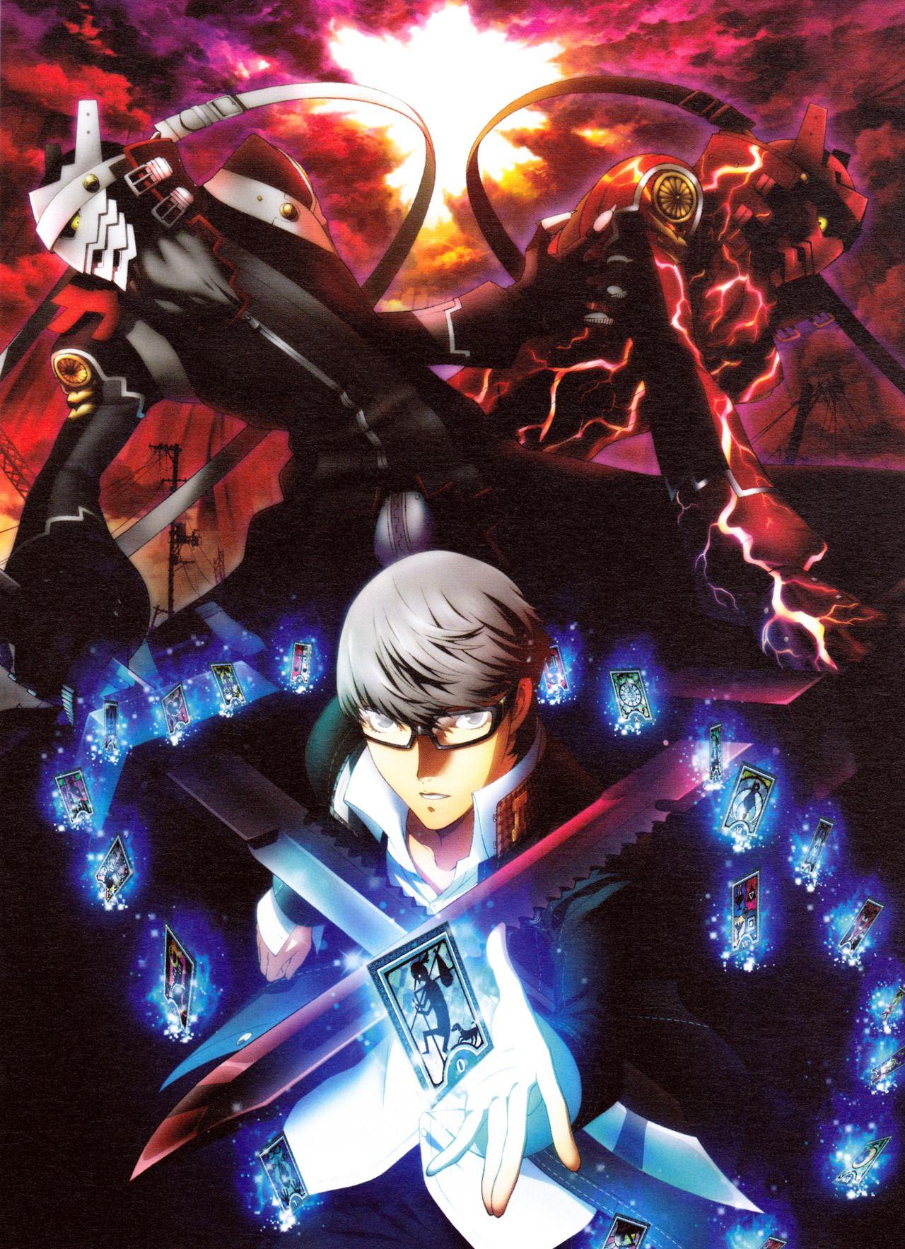 Persona 4 Yu Narukami with Izanagi(s) Persona 4