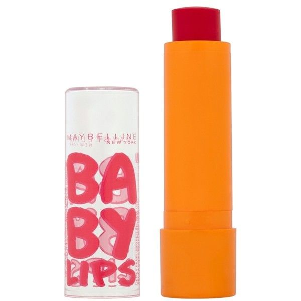 Maybelline Baby Lips Lip Balm Cherry Me (€3,79) ❤ liked on Polyvore featuring beauty products, skincare, lip care, lip treatments, makeup, meik, cherry me, lip treatment ve maybelline