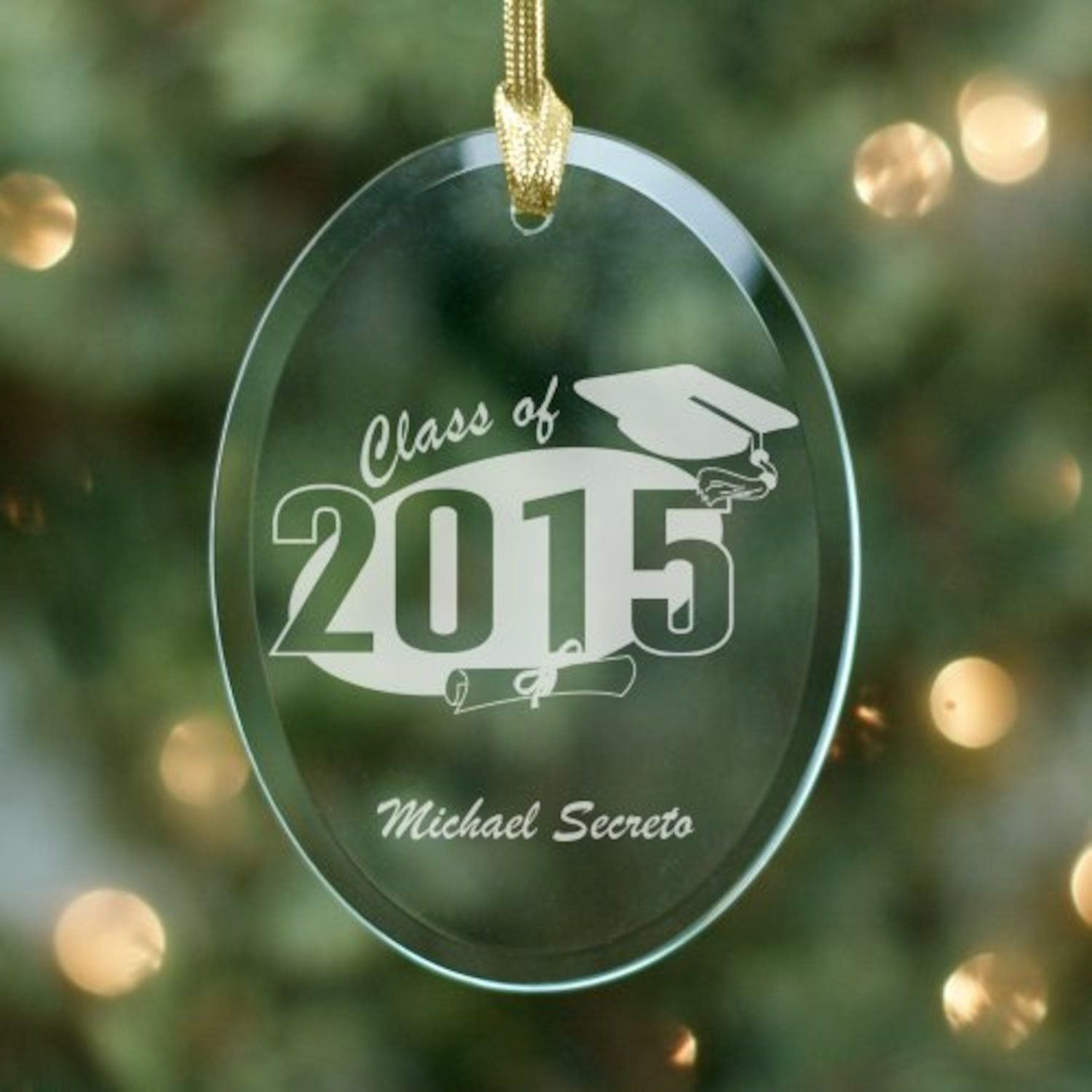 Blank ornaments to personalize - Personalized Graduation Ornament