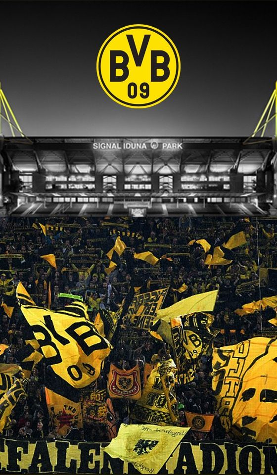 Borussia Dortmund Signal Iduna Park Football Wallpaper Football Stadiums European Football