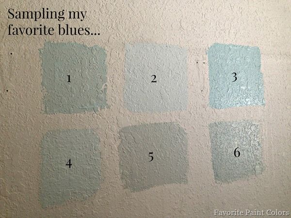 Watery By Sherwin Williams 4. Sea Salt By Sherwin Williams 5. Vapor Trails  By Benjamin Moore 6. Comfort Gray By Benjamin Moore