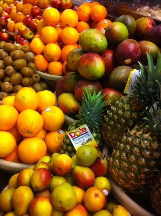 Miles Market in Hamilton, Pembroke Parish, is one of Flora's favourite spots to get healthy eats in Bermuda.