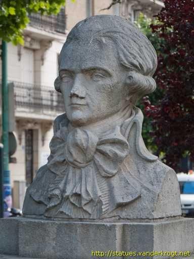 Saint,Denis. Ile,de,France / Maximilien de Robespierre