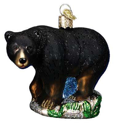 Old World Christmas Black Bear Christmas Pinterest Christmas