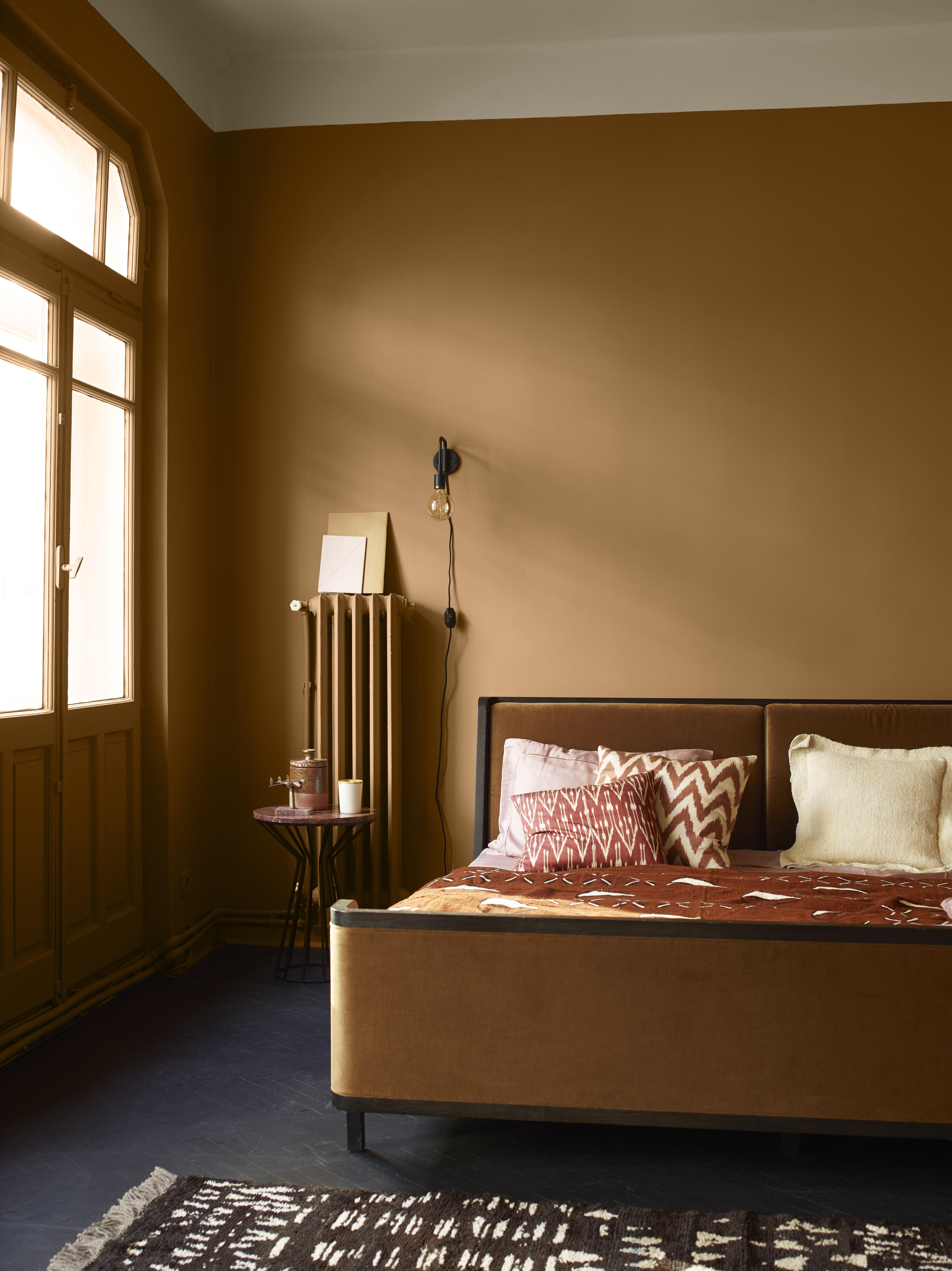 Los Colores Marrones Y Tonos Tierra Combinan Con Todo Tipo De Estilos Y Colores De Casas Interiores Combinaciones De Colores Del Dormitorio Colores Para Casas