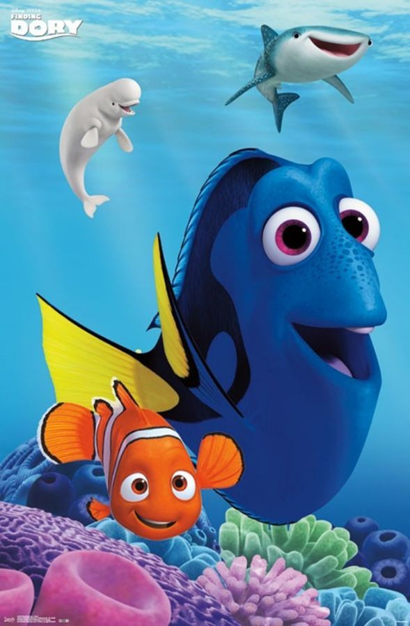 Ships Securely Today In A Crush Proof Poster Shipping Tube Click Here For More Posters Disney Finding Nemo Cute Disney Wallpaper Disney Wallpaper