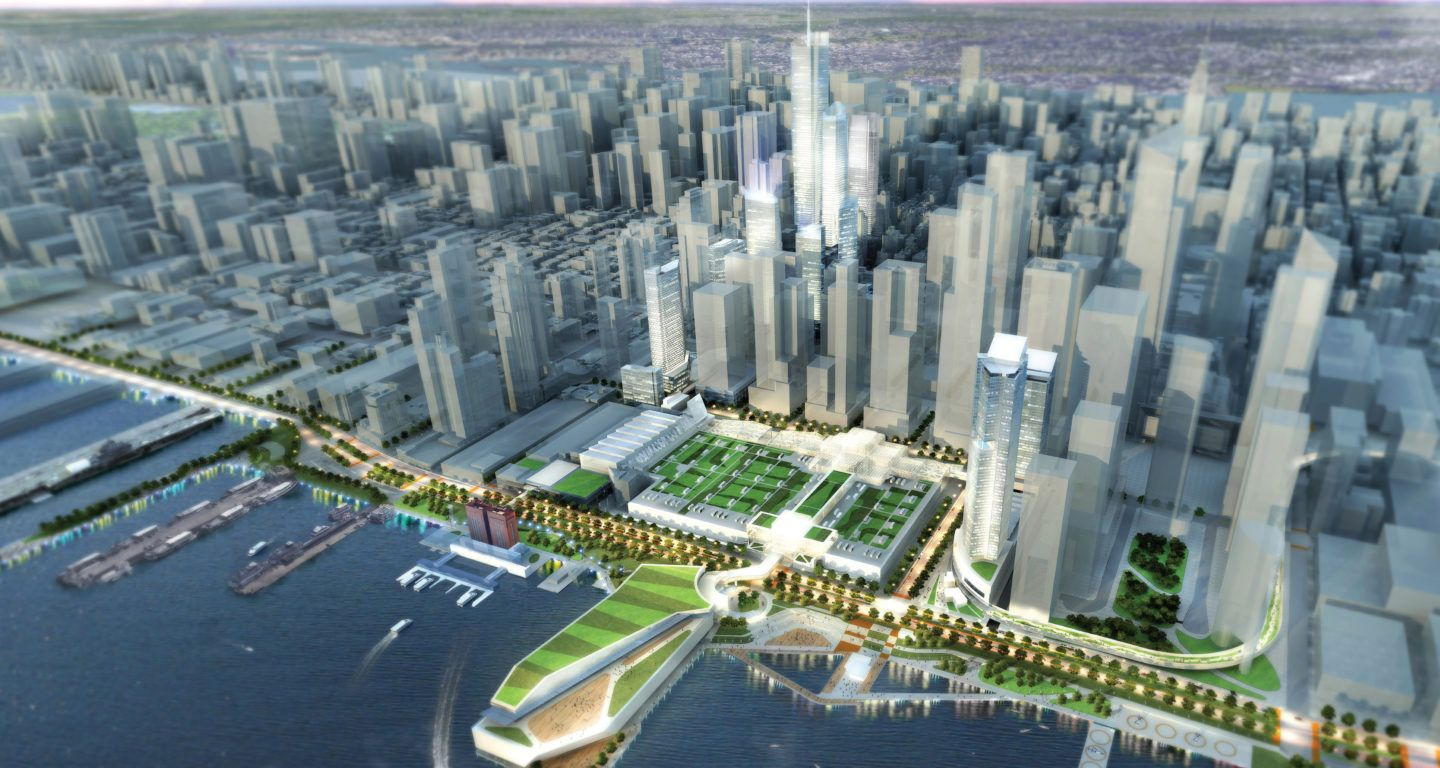 Ny Nj Port Authority Terminal Competition Mikyoung Kim Design