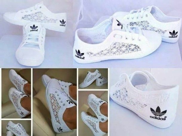 info for 13ce1 ada3d shoes adidas lace sneakers white