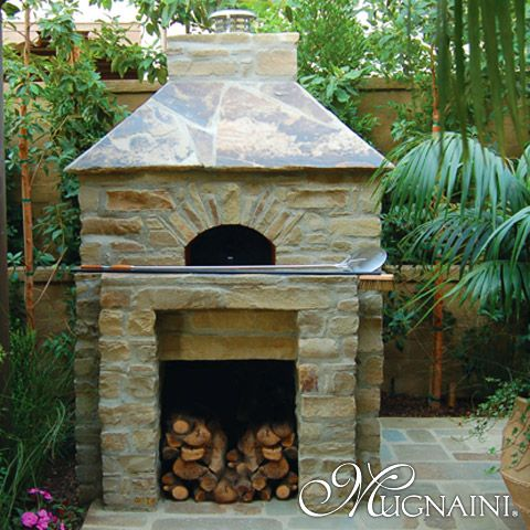 i must havee on my patio!! Pizza ovens Pinterest